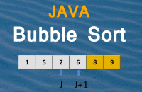 Bubble sort algorithm