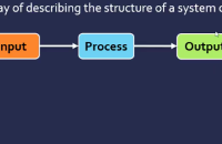 Input process output model