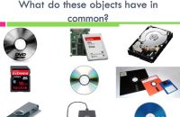 Storage devices lesson plan